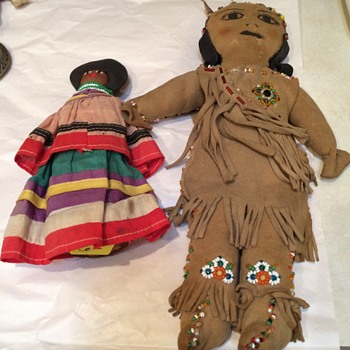 Vintage Indian Dolls