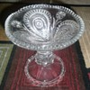 Vintage EAPG 1908 Slewed Horseshoe Punchbowl base
