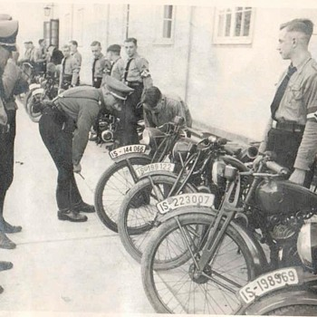 ww2 Hoffmann moped - Motorcycles