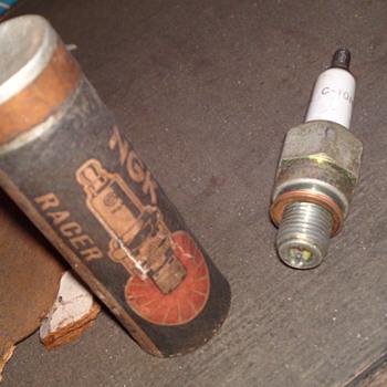old school spark plug
