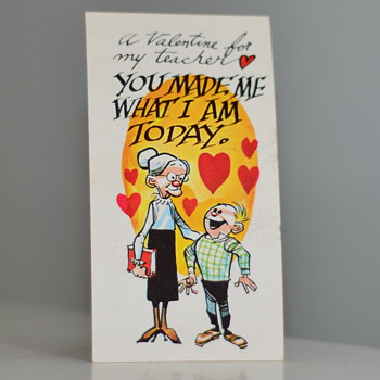 1961 O-Pee-Chee Giant Funny Valentines - Cards