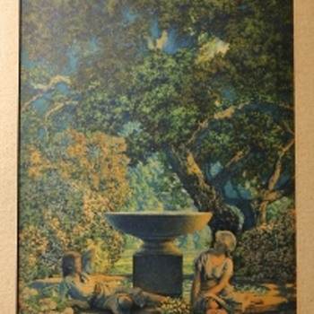 Maxfield Parrish - another print i found - Fine Art