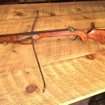 Antique French Crossbow - Military and Wartime