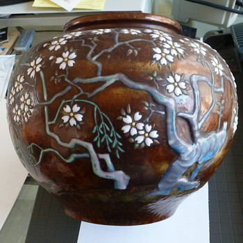 Japanese Vase Collected In 1952 - Asian