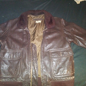 USN  G-1 flight jacket - Military and Wartime