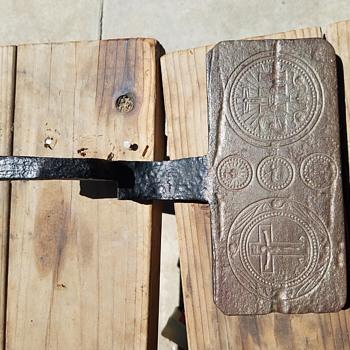 Antique religious embosser