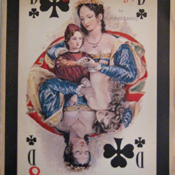 """Old Florentine designs"" playing cards posters - Cards"