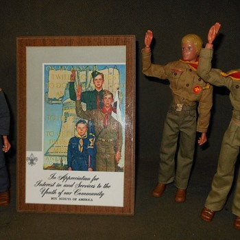 Norman Rockwell Boy Scout Apprecition Plaque 1965 - Sporting Goods