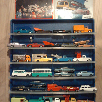 Corgi's & Husky's... Gotta love the Monkeemobile, Batmobile, and Man fron U.N.C.L.E. car & James Bond's Aston DB5 - Model Cars