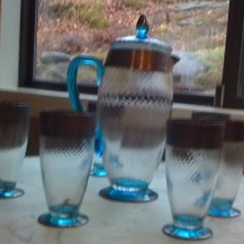 Tiffany Lemonade set ?