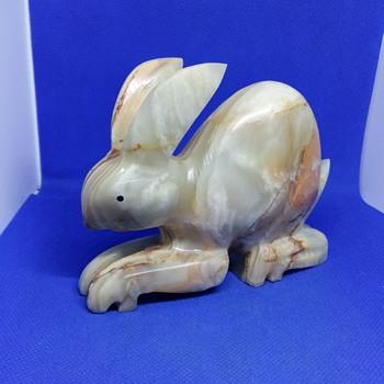 Alabaster rabbit - Animals