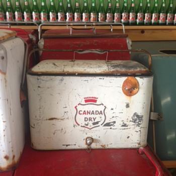 Canada Dry Progress A4 Picnic Cooler