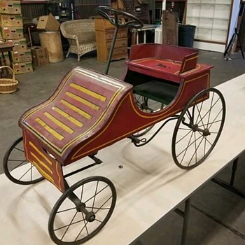 Early 1900's pedal car - Model Cars