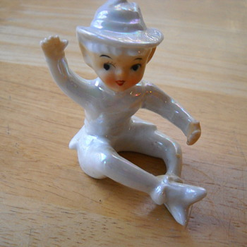 Porcelain Pixie Figurine - Pottery