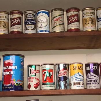 Vintage Beer& Soda Cans - Breweriana