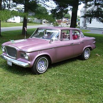1959 pink coral metallic studebaker lark - Classic Cars