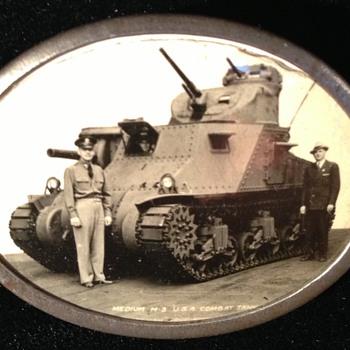 WW II Tank Pin - Military and Wartime
