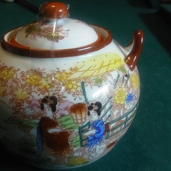 Japanese tea pot  - China and Dinnerware