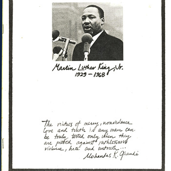 1960s Martin Luther King Memorabilia - Politics