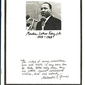 1960s Martin Luther King Memorabilia - Politics