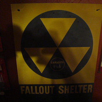 Cold War Fallout Shelter - Signs