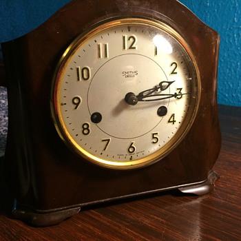 1950s Smiths Enfield Bakelite Mantel Clock - Clocks