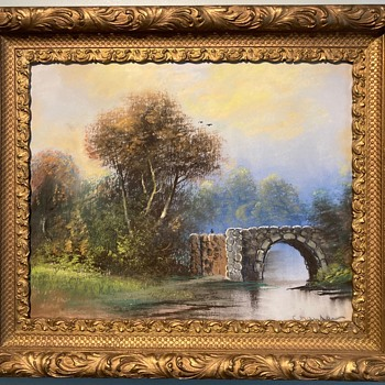 "Is This A True William Henry Chandler Pastel signed "" Chander "" not "" Chandler "" ? - Fine Art"