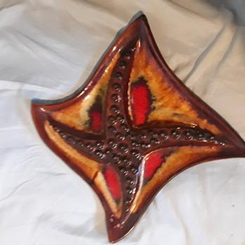Starfish ashtray  - Tobacciana