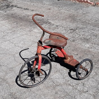 Terrible Tricycle Tuesday Vintage Tricycle With Skinny Wheels - Sporting Goods