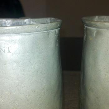 Pewter Mugs  - Breweriana