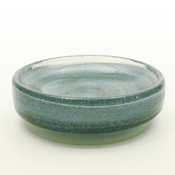 Blue LAVA bowl, Per Lütken (Holmegaard, 1970) - Art Glass