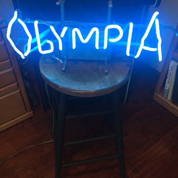 Olympia sign - Signs