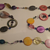 1960s glass necklace