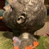 Glazed Pottery Bust - Defiance!