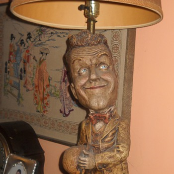 Stan Laurel Lamp - Lamps