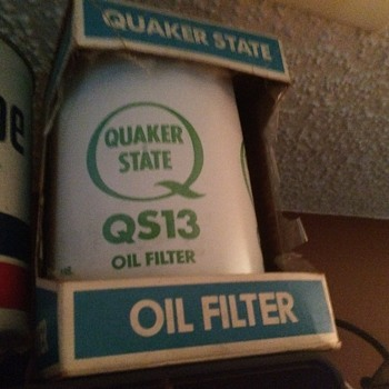 Quaker State NOS Oil Filter - Petroliana