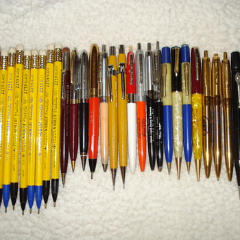 """ADVERTISING """"PENS AND PENCILS"""""""