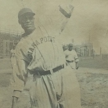 Negro League Baseball Player Crush Holloway