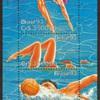 """1993 - Brazil """"Water Sports"""" Souvenir Sheet"""