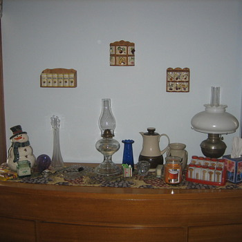 Some of my wifes things - Lamps