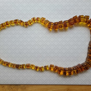 Amber and Murano? - Costume Jewelry