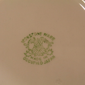 Ironware made in occupied Japan