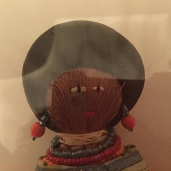Vintage Seminole doll