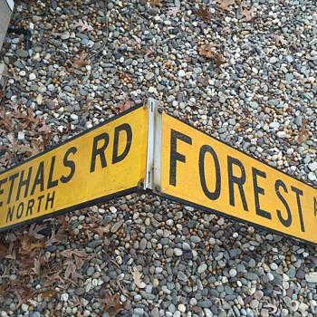 1960s Staten Island, NY street corner signs