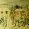 "1 of 2, Watercolours, Bermuda Homes""Alfred Birdsey"" Bermudan/British (1912 - 1996)Circa 1960-70"