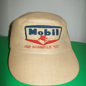 1965 Mobil Indy 500 hat