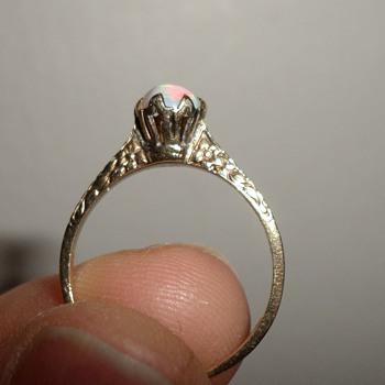 10K Ostby Barton Opal Ring - Fine Jewelry