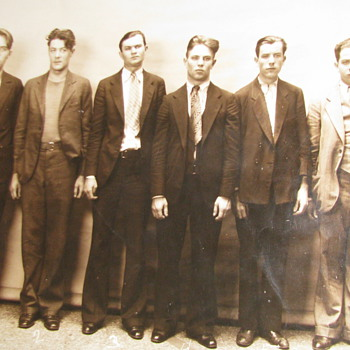 1930 Original Prisoner Photo from Camden New Jersey - Photographs