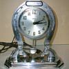 1930-33 Howard Clock Corporation, Horseshoe Clock with Swinging Pendulum