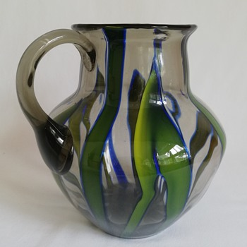 Kralik Bambus Jug - Art Glass
